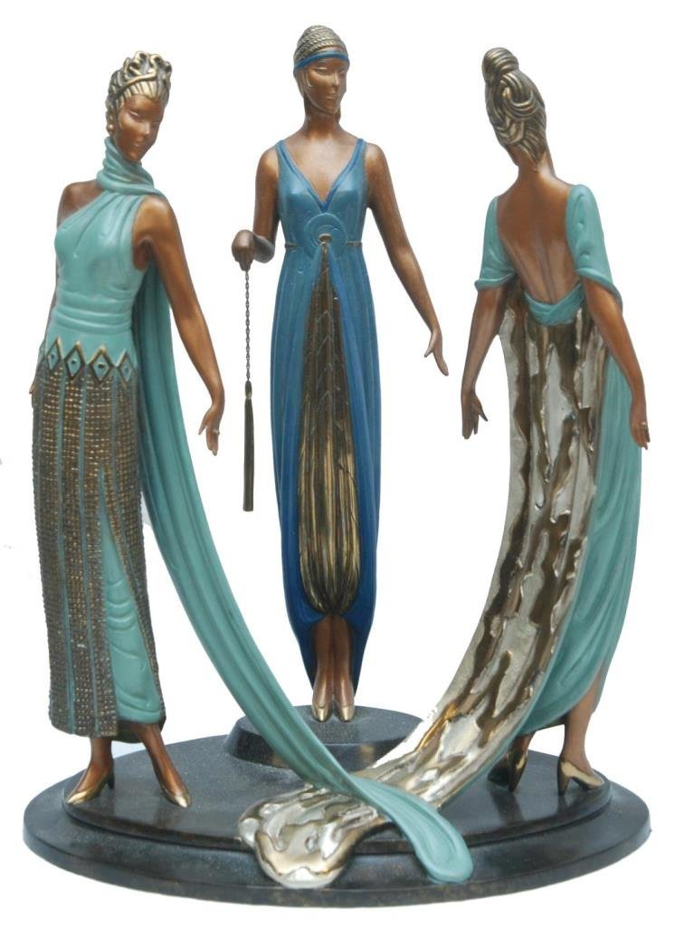 "ORIGINAL ERTE BRONZE ""THREE GRACES"" 200/375"