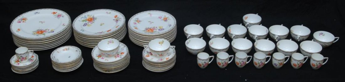ROSENTHAL 80 PIECE SET OF FLORAL DESIGN CHINA