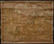 S. AUGUSTUS MITCHELL 1846 AMERICAN REPUBLIC MAP
