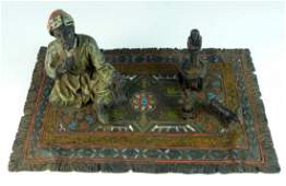 VIENNA STYLE COLD PAINTED BRONZE OF MERCHANT
