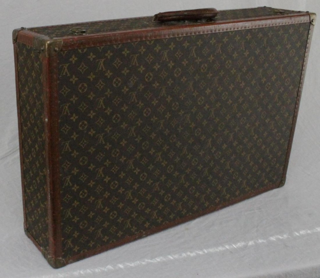 LOUIS VUITTON HARD CASE LEATHER SUITCASE