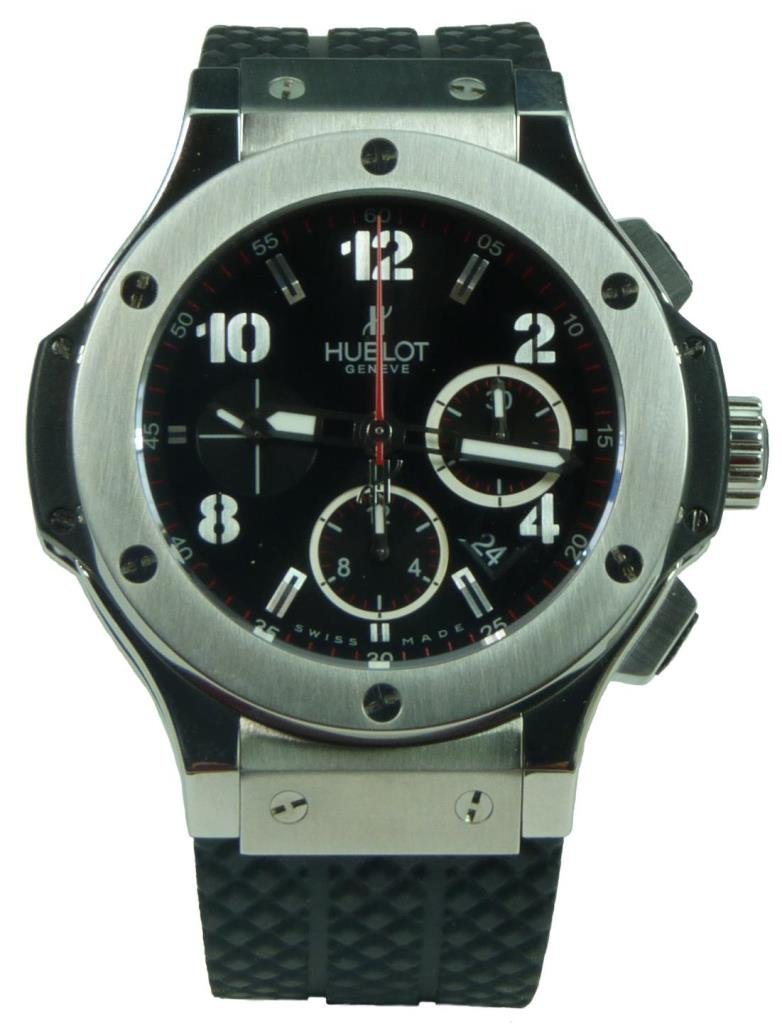 HUBLOT BIG BANG STAINLESS STEEL 44MM WATCH
