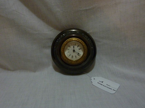 4: Museum Quality Ansonia, Paper Weight / Dresser Clock