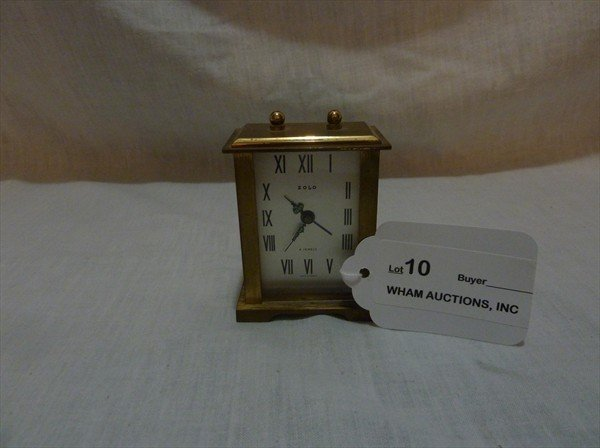 10: Miniature French Clock