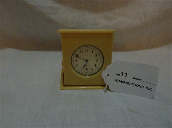 11: Bakelite Clock Made in USA