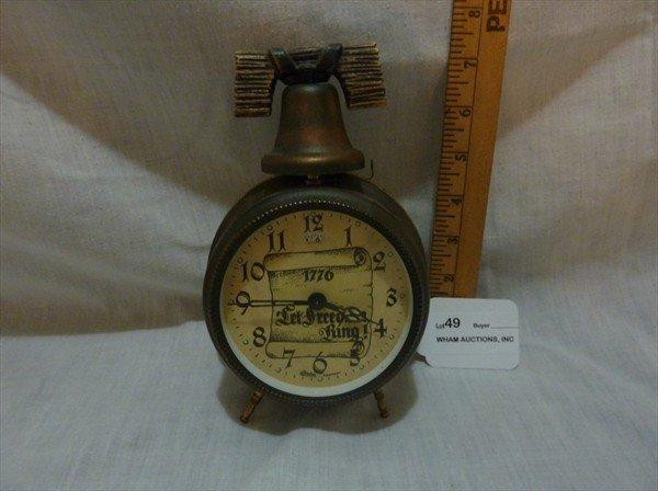 49: Linden Germany 1776 Let Freedom Ring Alarm Clock