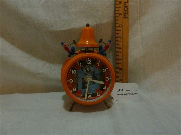 64: Highly Collectible Busy Boy Clock by Jerger