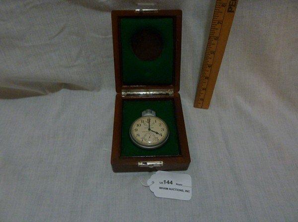 144: Hamilton Chronometer in Original Case Model 22