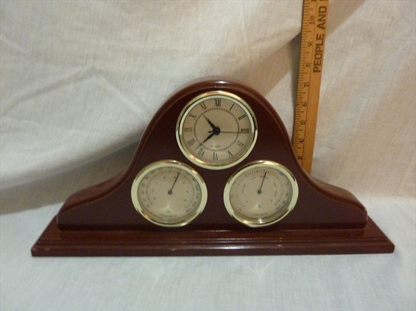 275: Clock w/ Thermometer & Highgrometer, Working
