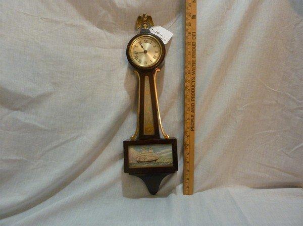 280: Miniature Seth Thomas Banjo Clock