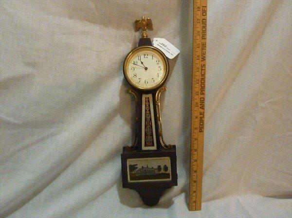282: Miniature New Haven Banjo Clock