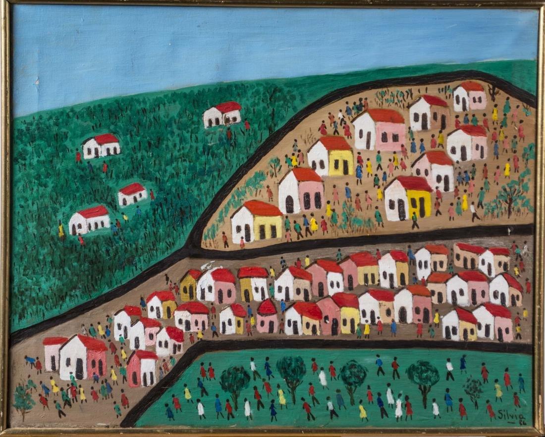 SILVIA (Brazilian Art Naif, 20th Century)