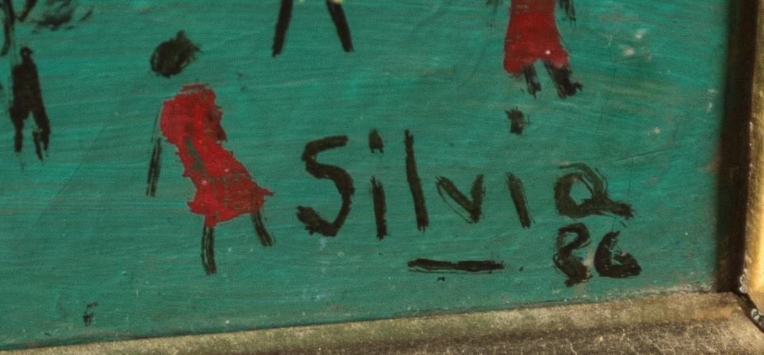SILVIA (Brazilian Art Naif, 20th Century) - 2