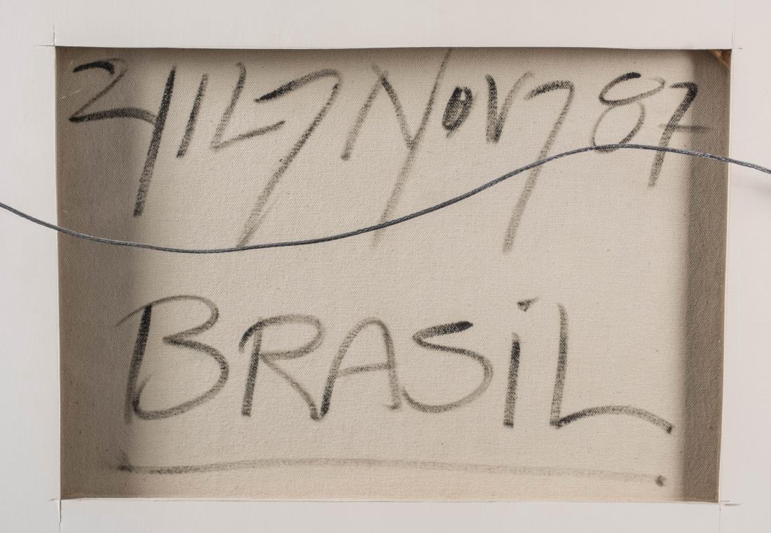 Pair of Brazilian Art Naif Works - 6