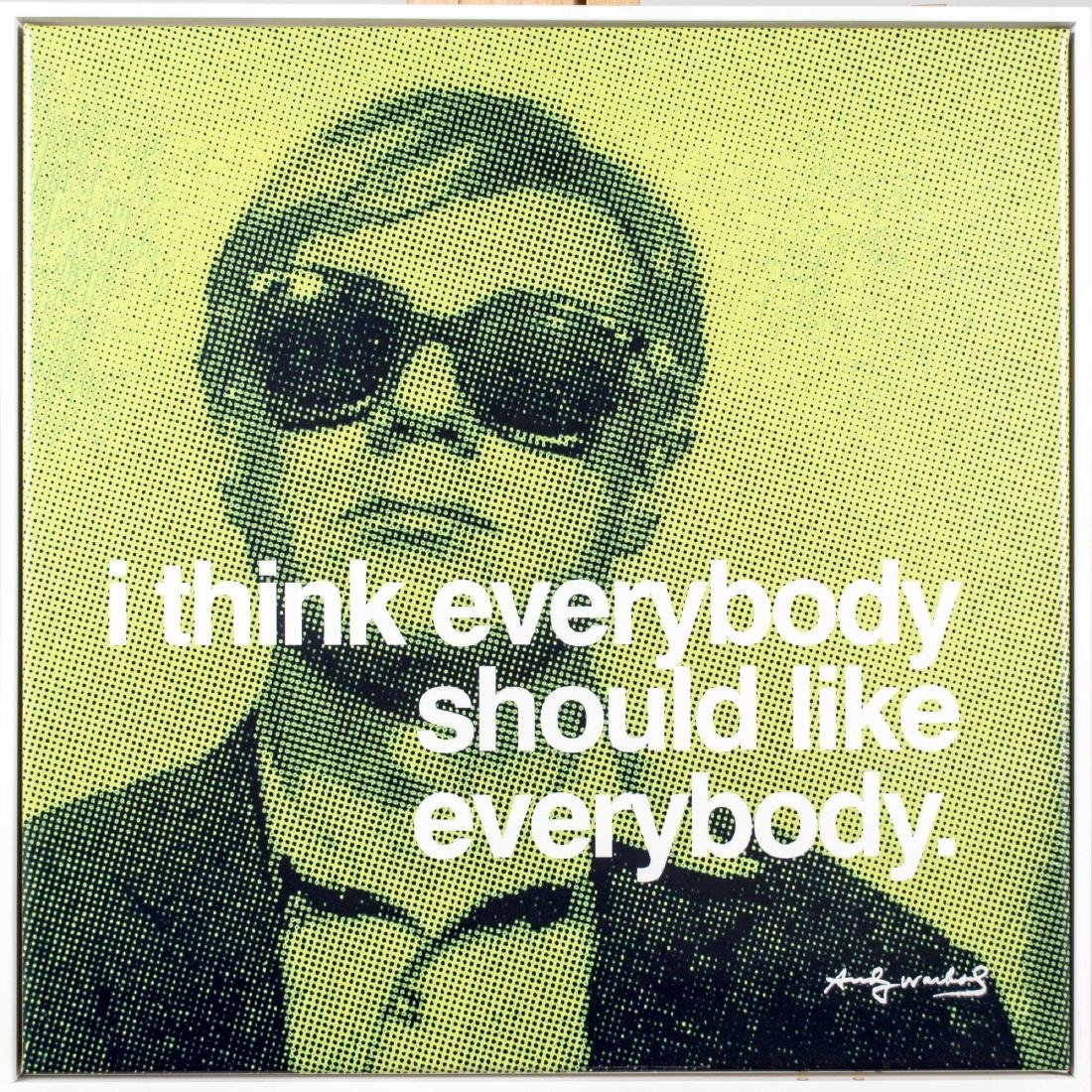 Five Andy Warhol Decorative Posters - 2