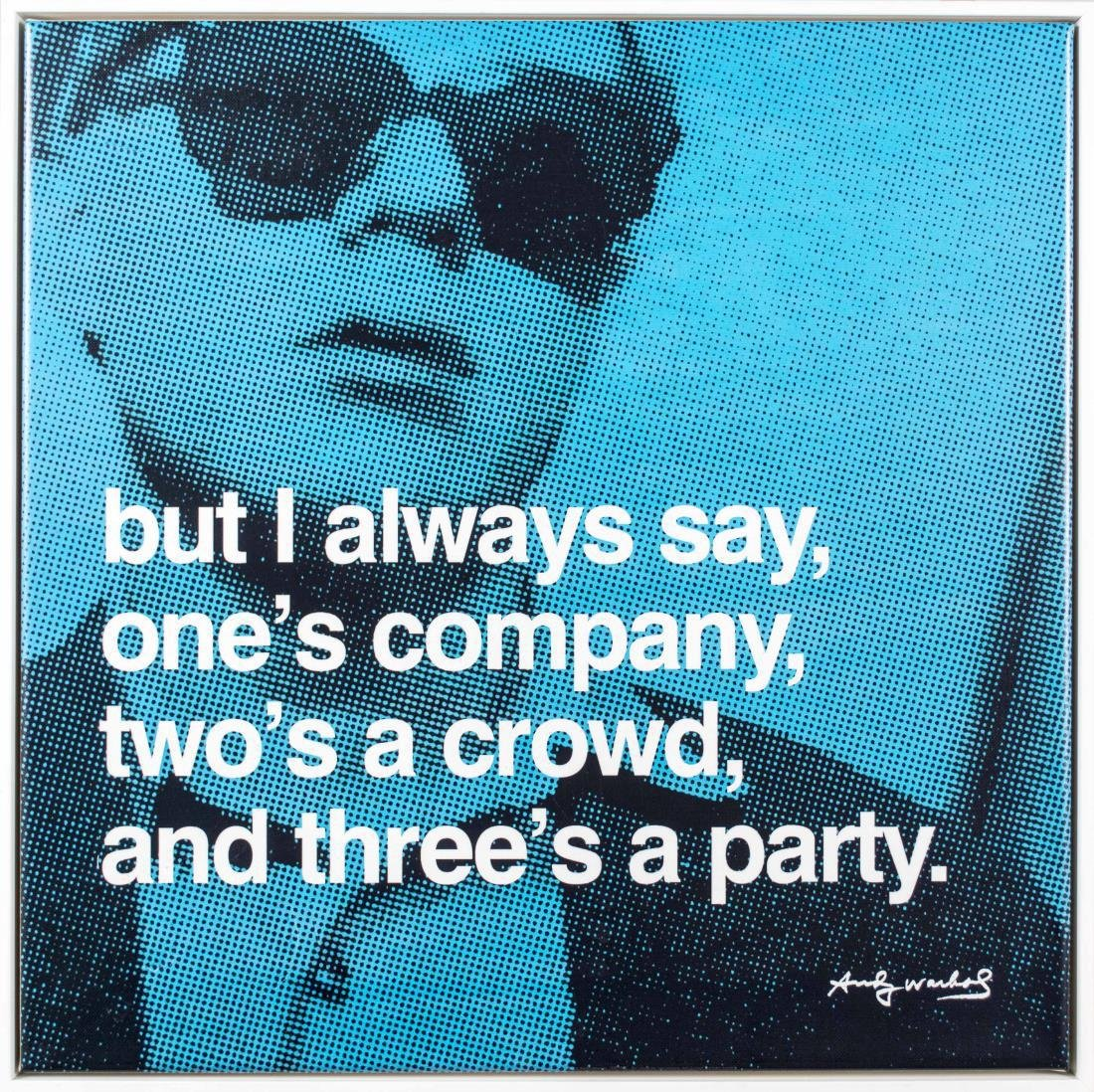 Five Andy Warhol Decorative Posters - 5