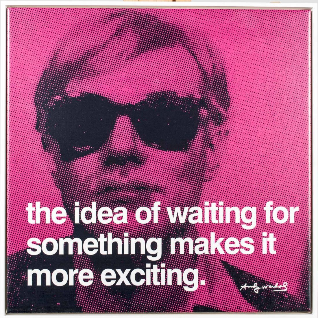 Five Andy Warhol Decorative Posters - 6