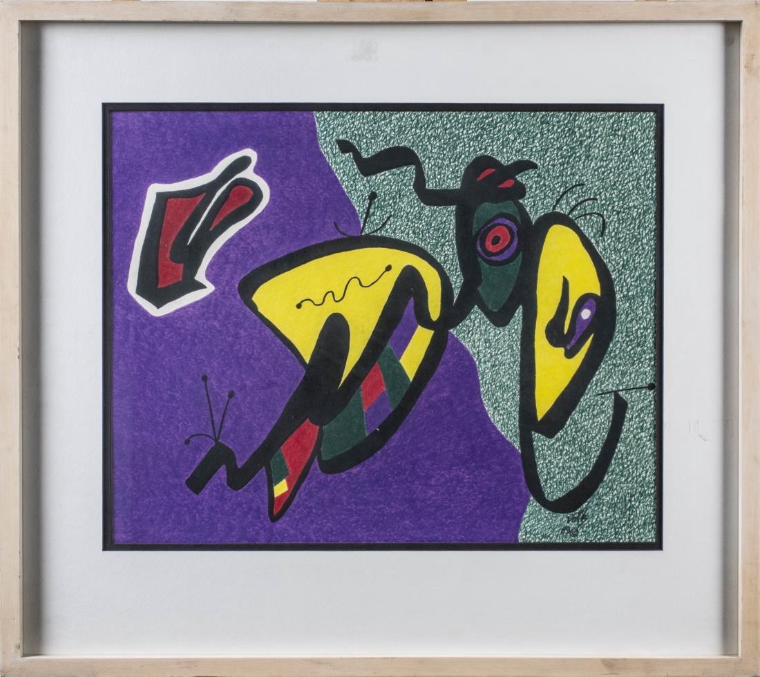 Three Abstract Prints by Volk - 2