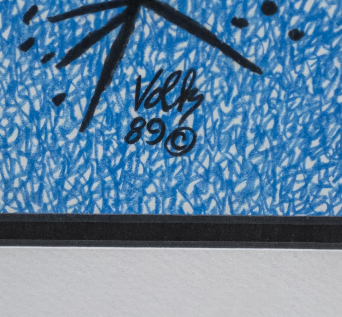Three Abstract Prints by Volk - 6