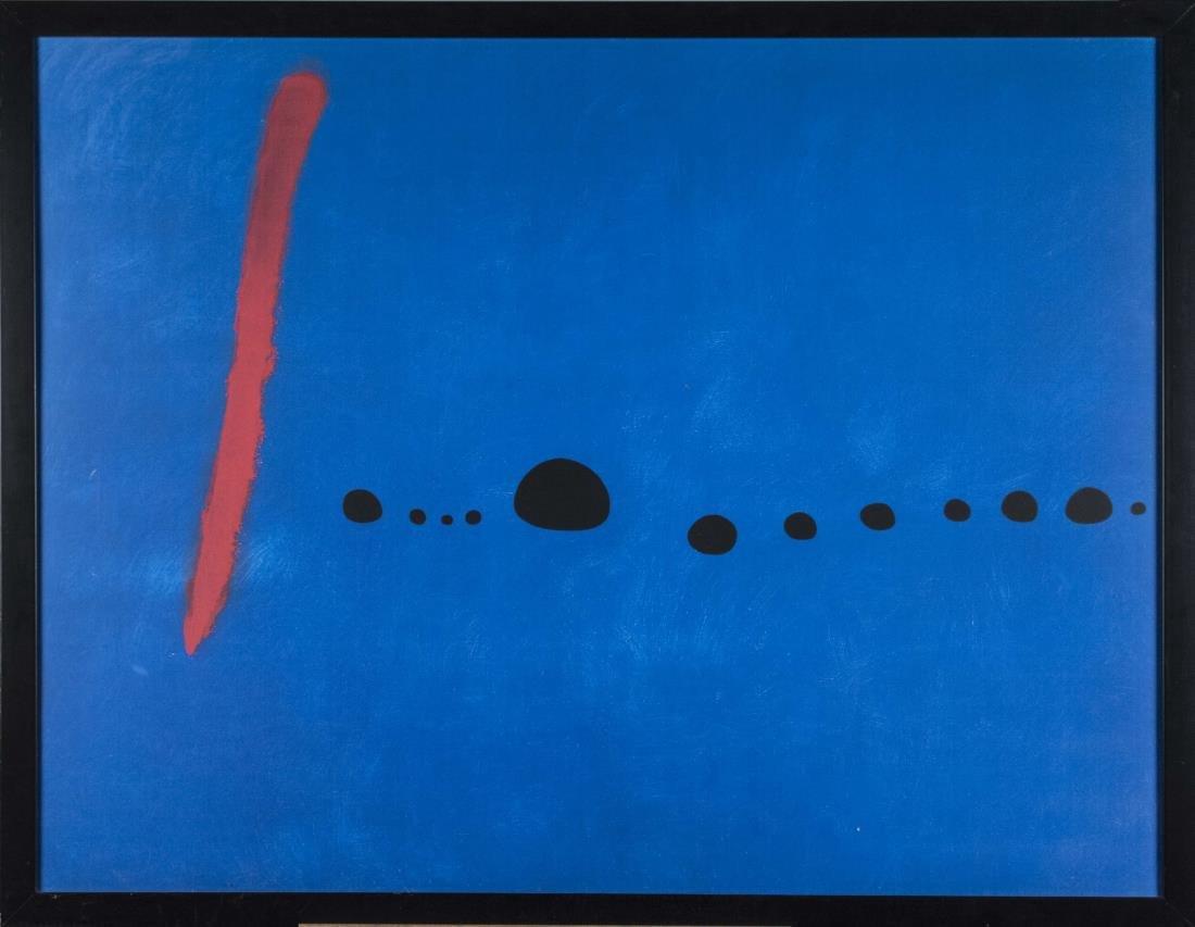 Joan Miro Modern Art Poster