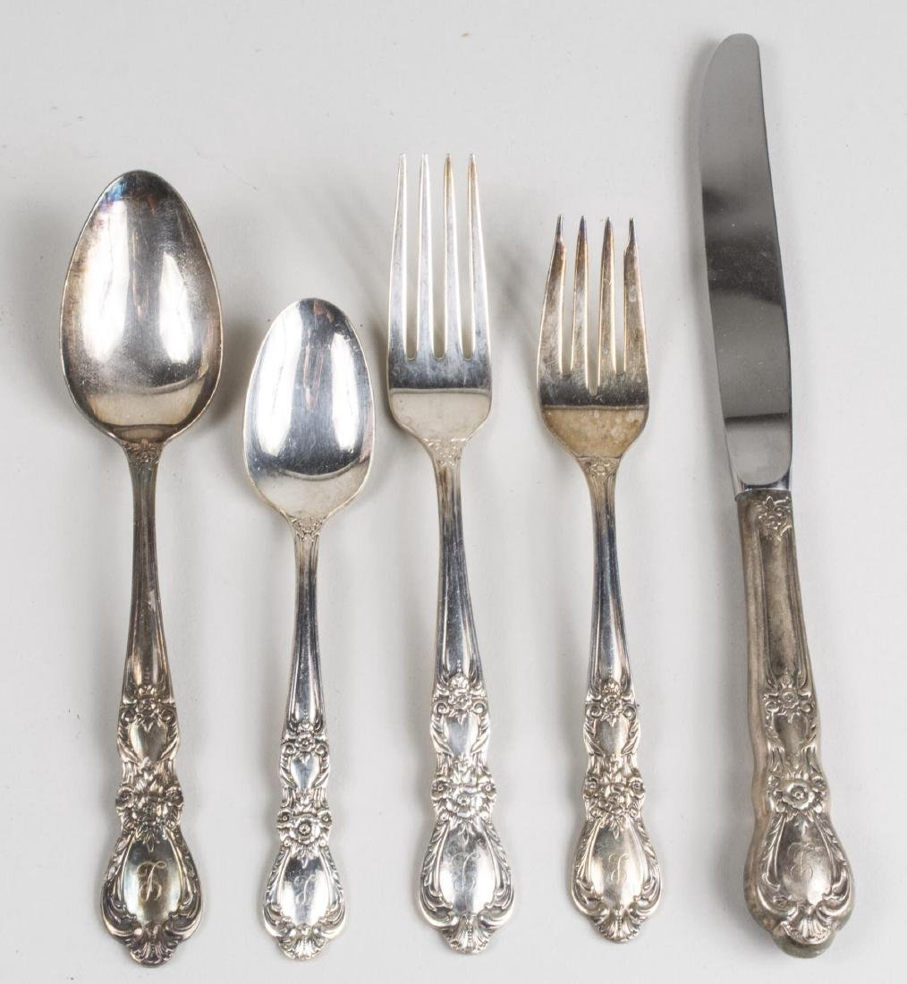 Rogers Silver Plated Flatware Set - 2