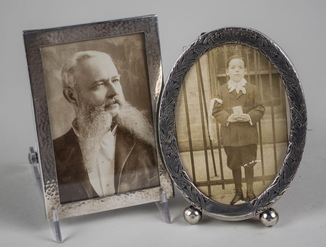 Two Sterling Silver Picture Frames