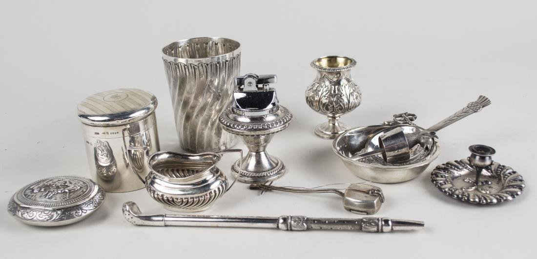 Group of Silver and Silver Plated Articles
