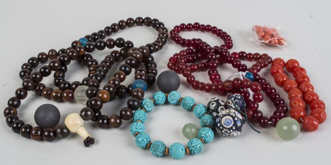 Group of Bead Jewelry