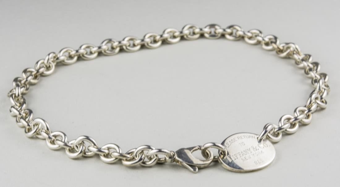 Tiffany & Co. Sterling Silver Neck Chain