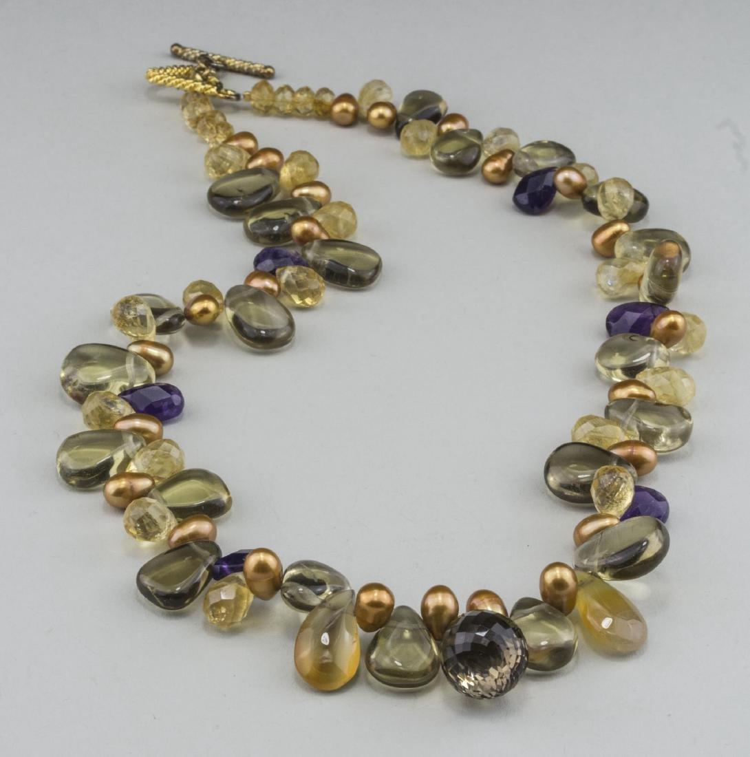 Gemstone Bead Necklace