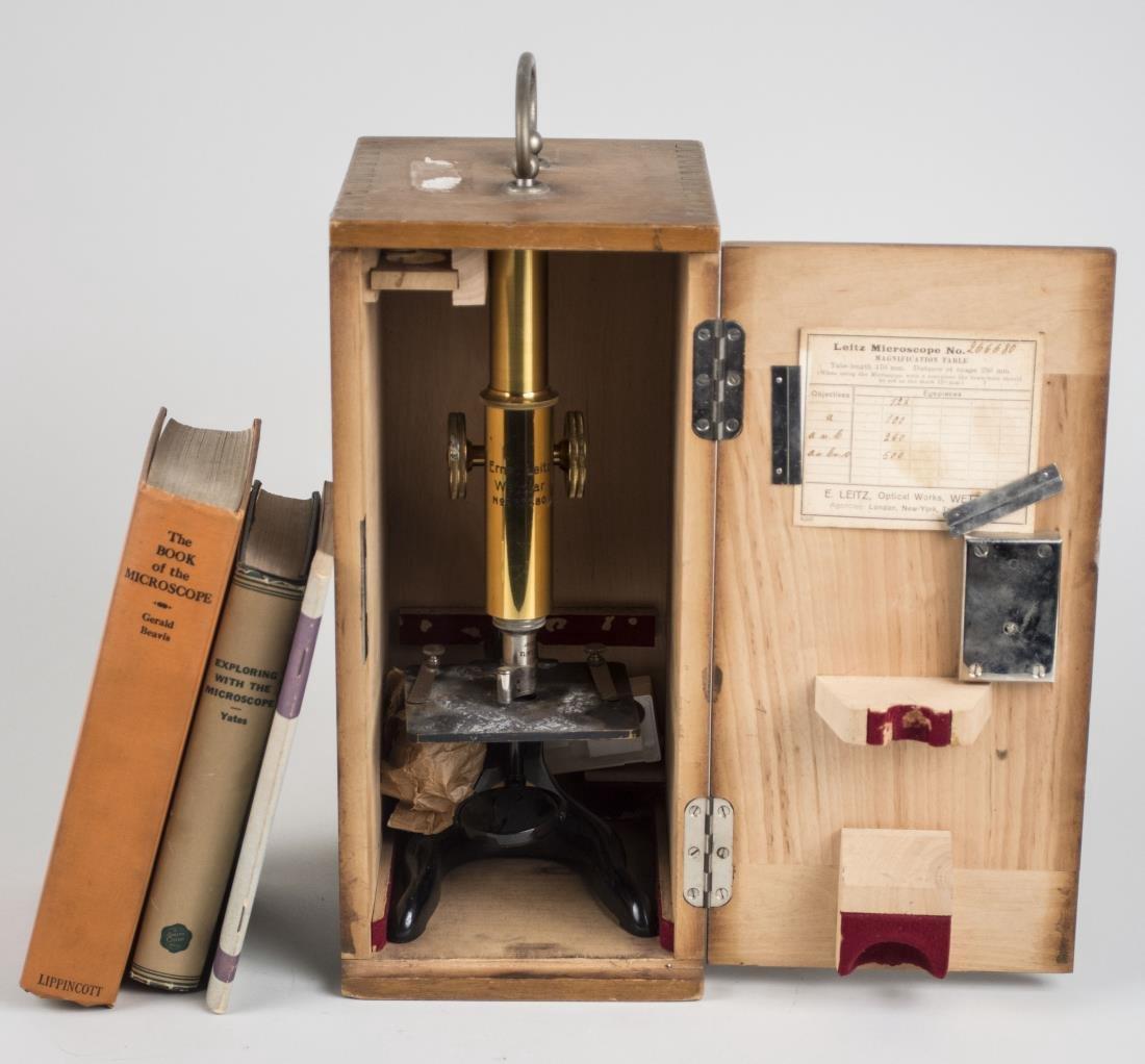 Ernst Leitz Microscope