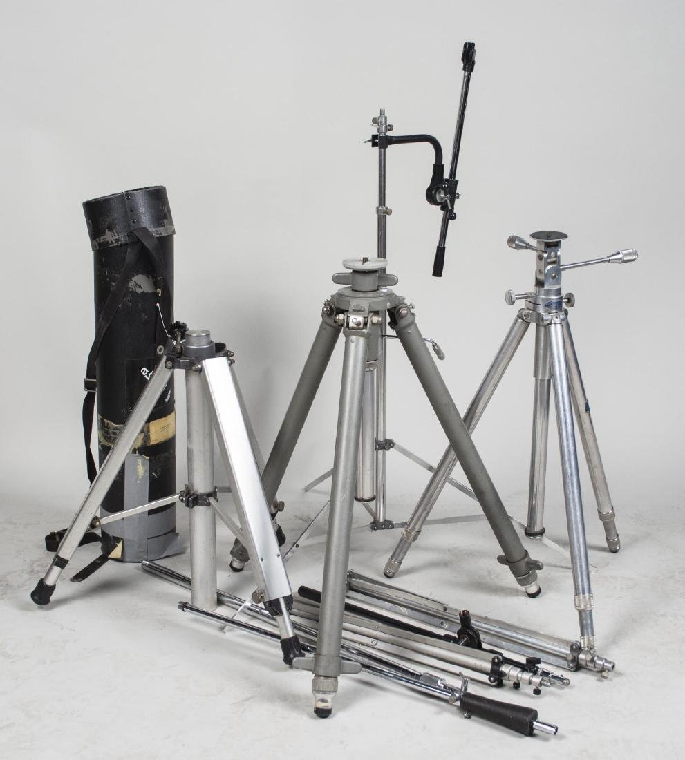 Group of Photo/Video Camera Equipment Stands