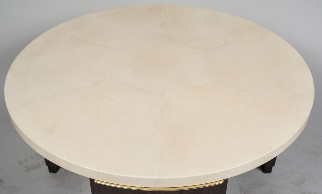 Dominque Style Goat Skin (Parchment) Coffee Table - 2