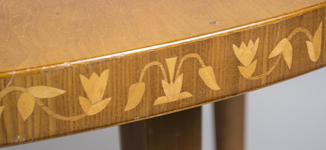 Modern Marquetry Dining Table - 2