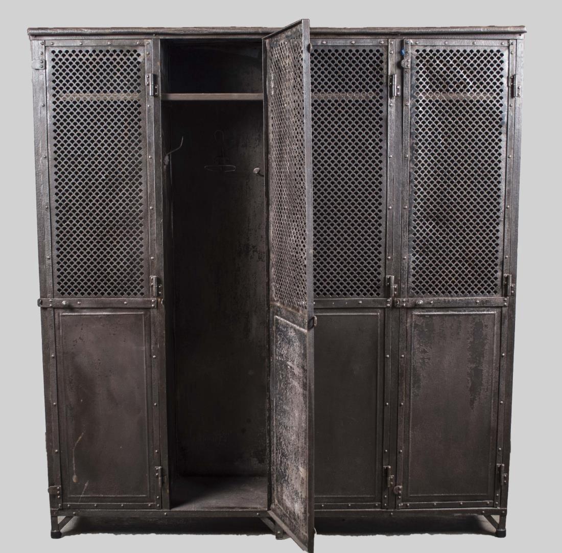 Metal Locker   * - 2
