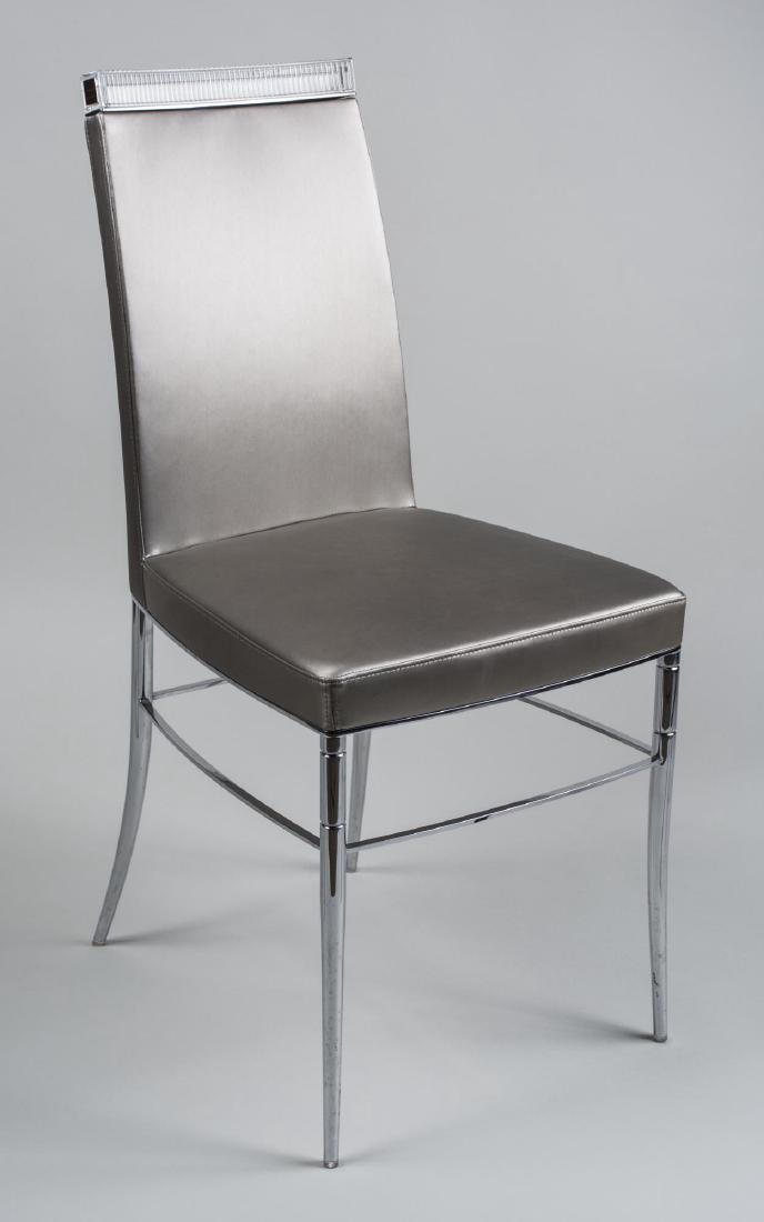 Baccarat Crystal Side Chair