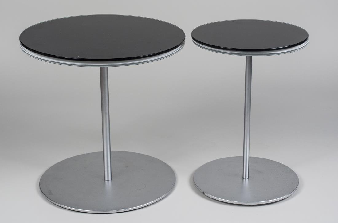 Two Glass Top Occasional Tables - 2