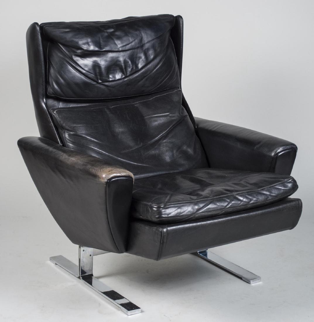Borge Morgensen Model 2431 Leather Armchair