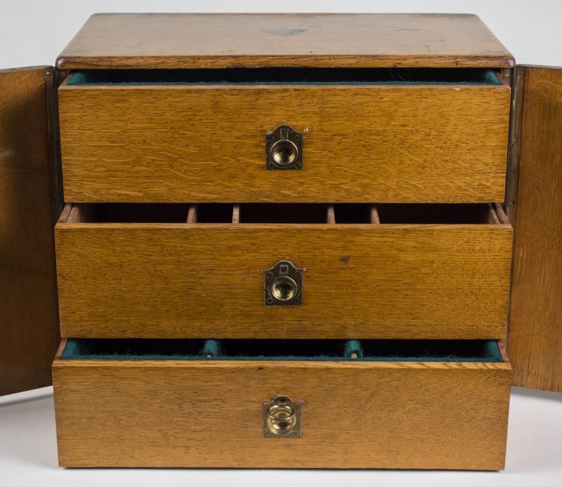 Victorian Oak Storage Box - 2