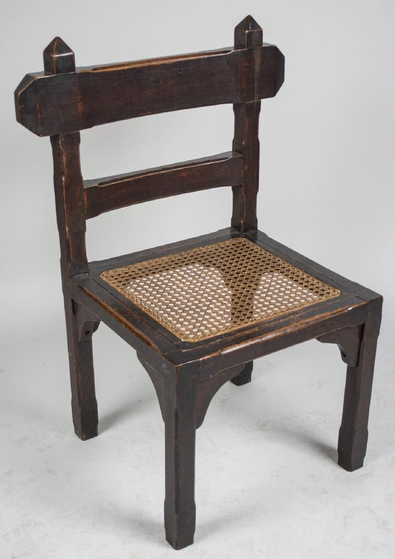 Arts and Crafts Style Chair