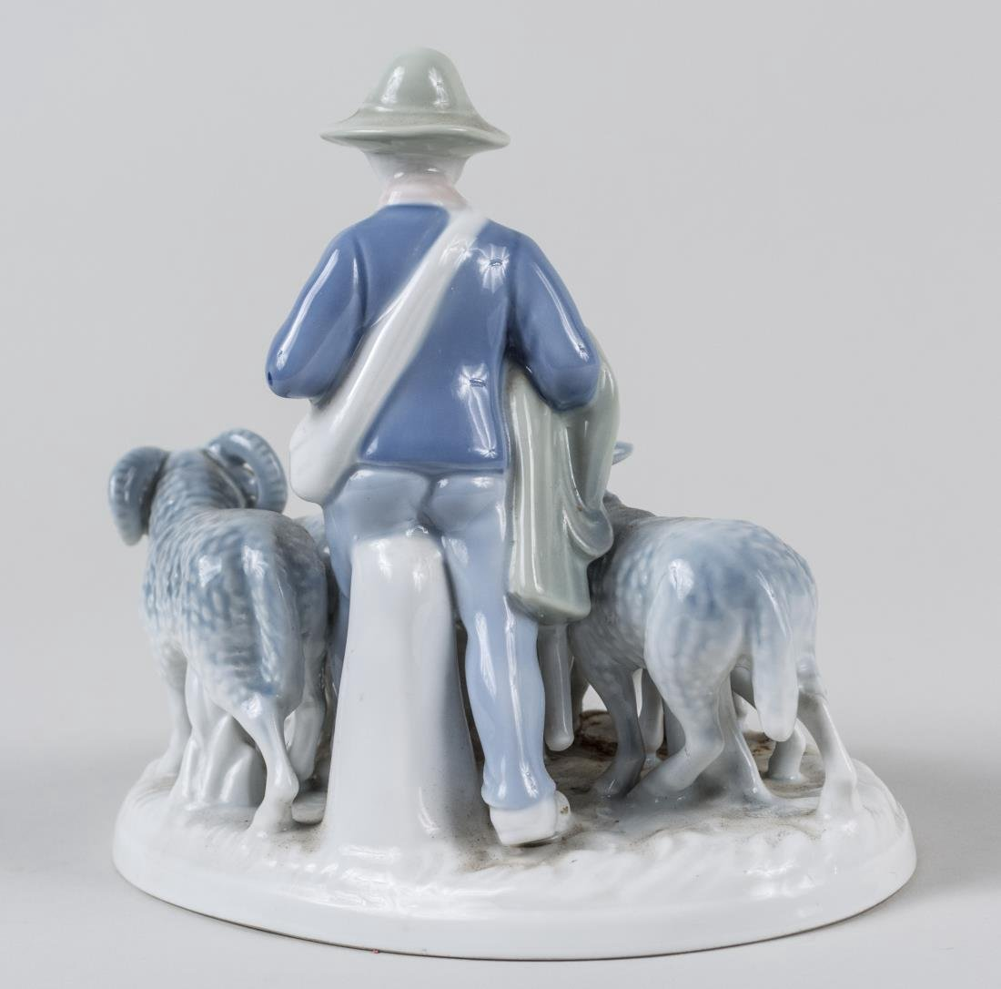 Bavarian Porcelain Figure Group - 3