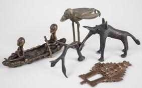 Group of African Bronze Figures