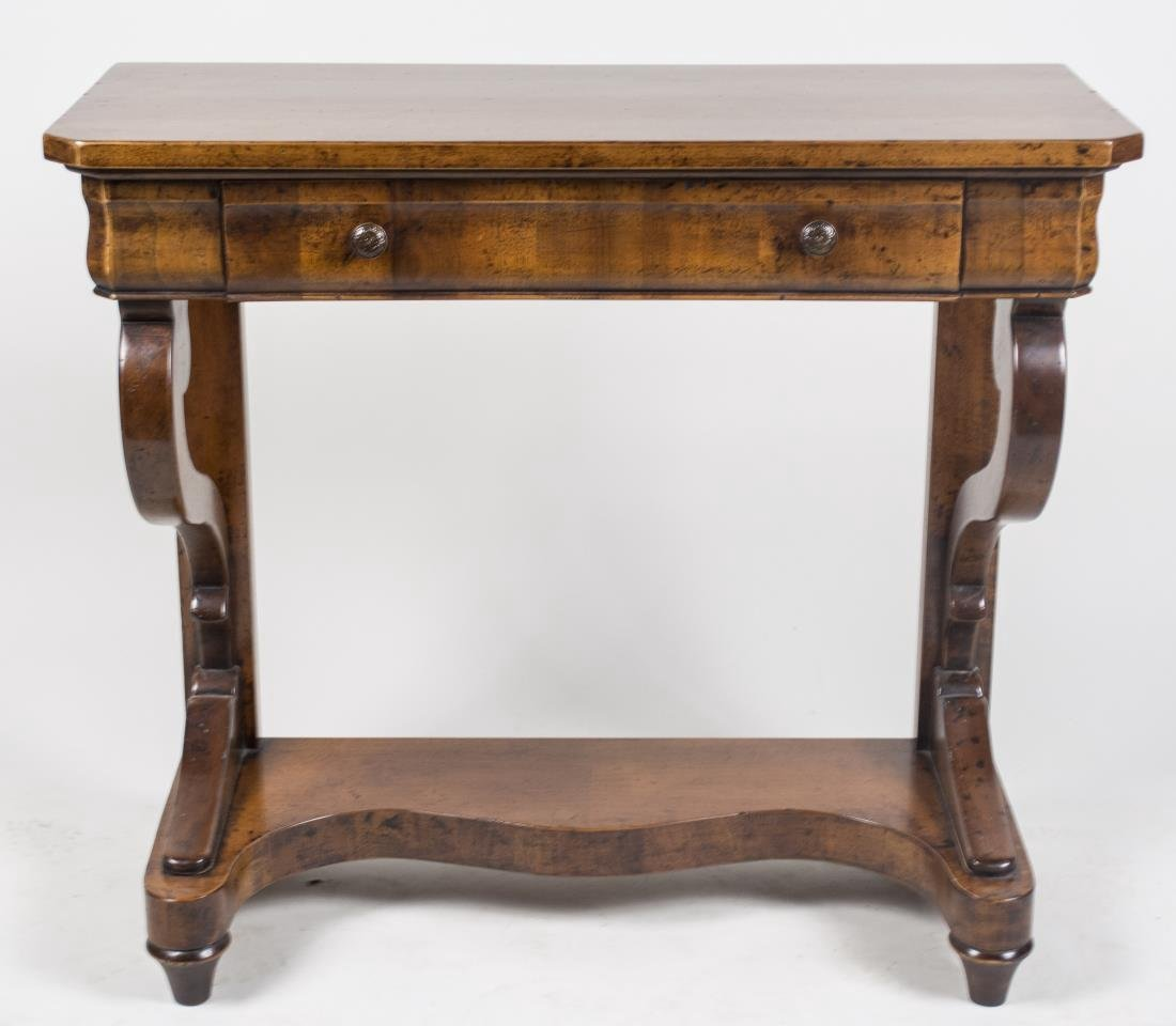 Fruitwood Console