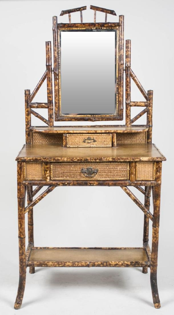 Regency Style Faux Bamboo Shaving Stand