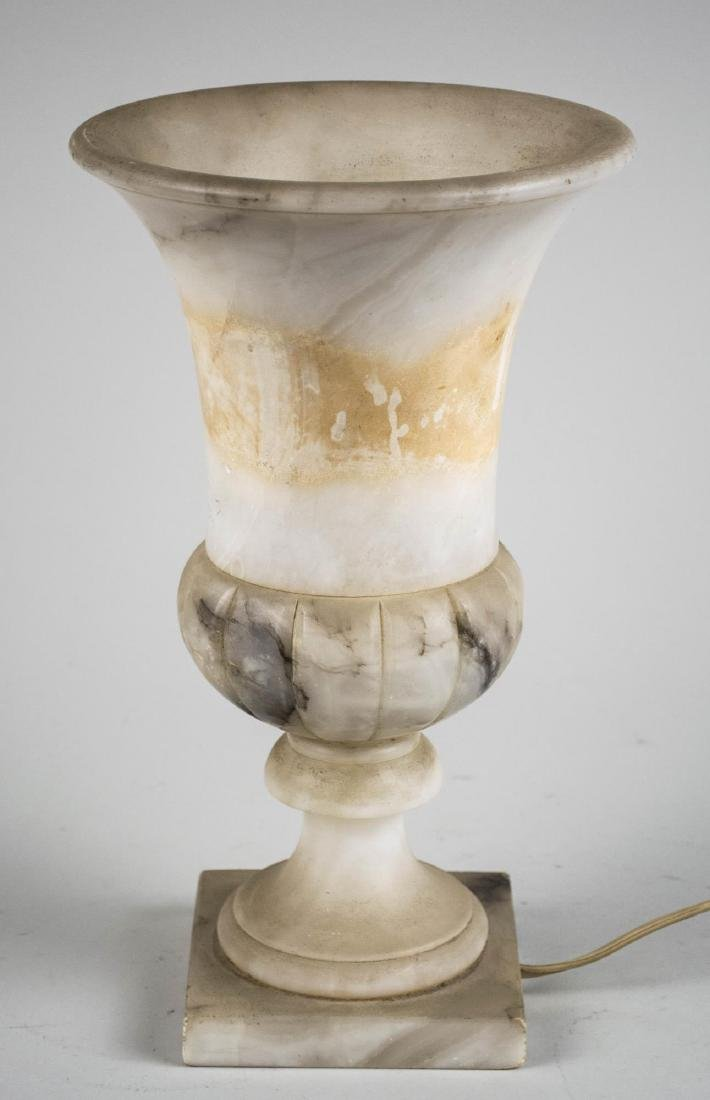 Art Deco Alabaster Lamp