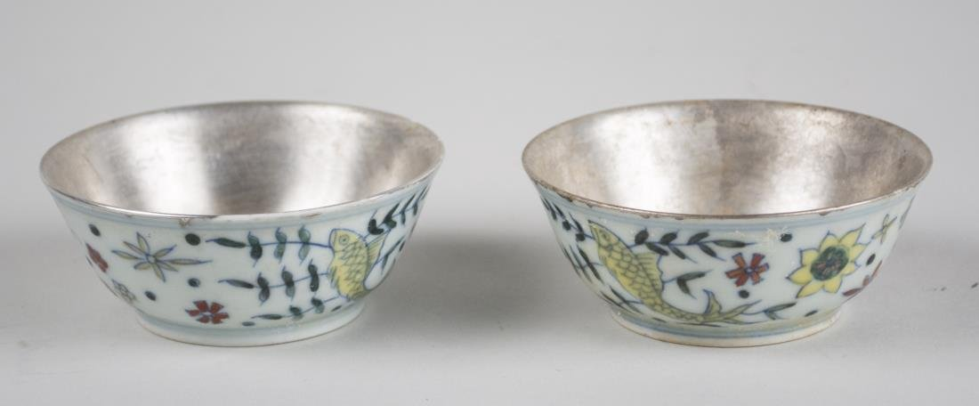 Pair of Chinese Porcelain Bowls