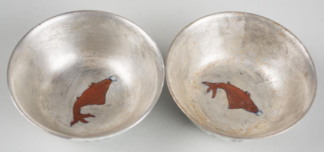 Pair of Chinese Porcelain Bowls - 2
