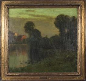 Charles Warren Eaton (American/Dutch,1857 - 1937)