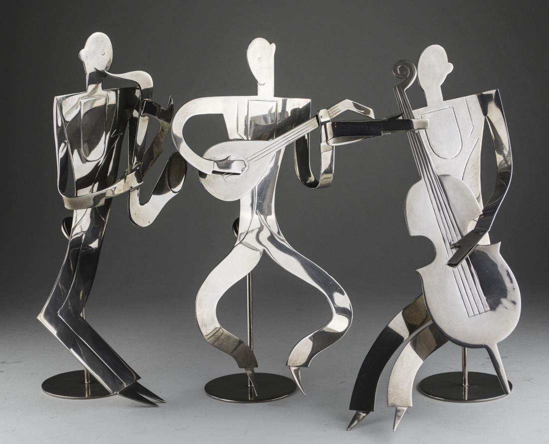 Three Franz Hagenauer Jazz Figures