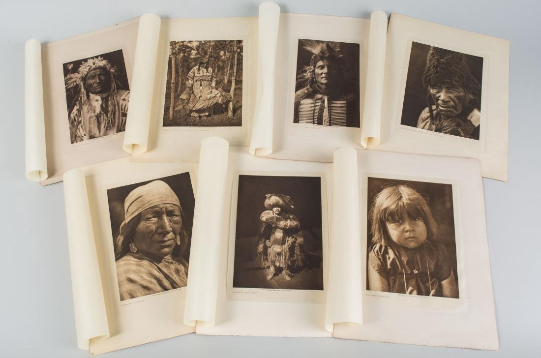 Seven Ethnographic Prints of Native Americans